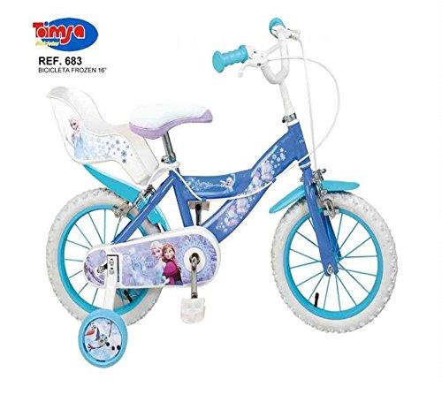 Jugatoys Bicicleta 16″ Frozen 5/8 AÑOS