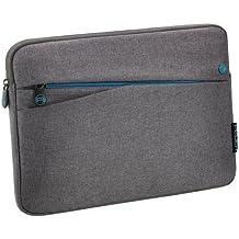 """PEDEA Tablet PC Tasche """"Fashion"""" für 10,1 Zoll (25,6cm) Tablet Schutzhülle Tasche Etui Case mit Zubehörfach, grau"""