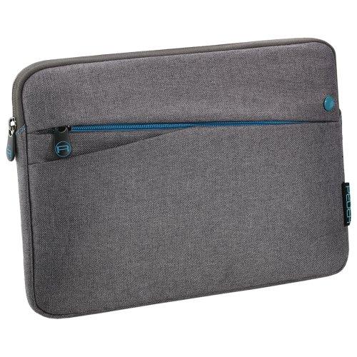 """PEDEA Tablet PC Tasche\""""Fashion\"""" für 10,1 Zoll (25,6cm) Tablet Schutzhülle Tasche Etui Case mit Zubehörfach, grau"""