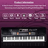 ESS EMM® 61-Keys Electronic Piano with USB MP3 Play Function, LED Display & Microphone