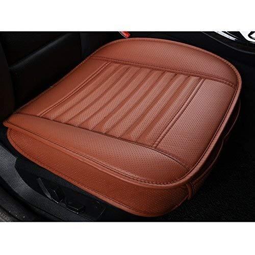 Wmk Auto-Sitzkissen, weiche Bequeme Gedächtnis-Schaum-Universal-Sitz Anti-Rutsch-Pad for Erwachsene Treiber Home Office Chair Rollstuhl (Farbe : Orange, Size : 1 Pack Front Seat Cover) -