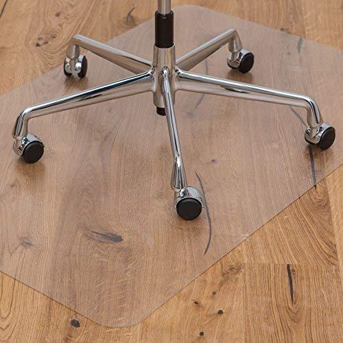 Kaiser Bodenschutzmatte | Made-In-Germany | für Hartboden | 75 x 120 cm | aus PET