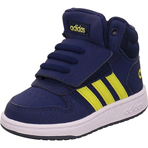 watch 05e29 99666 Adidas Hoops Mid 2.0 I, Sneakers Basses bébé garçon, Multicolore  (Darkblue Shoyel