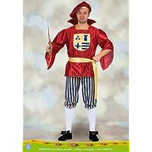 Ciao 16426 – Romeo, talla L, rojo/dorado/azul L ...