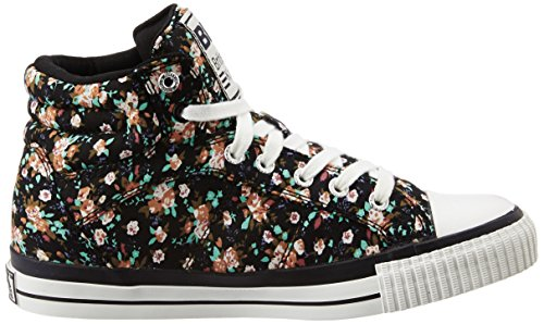 British Knights Unisex-Kinder Dee High-Top Schwarz