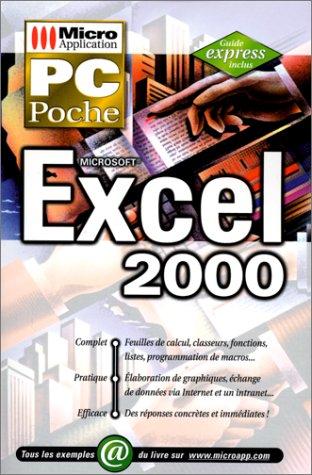 PC poche Excel 2000 par Databeker