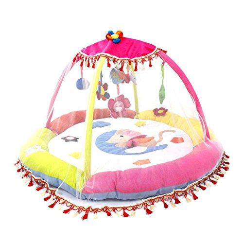 Preisvergleich Produktbild Ann Sang Cute große Moskitonetz für Baby spielen Centra, Spielmatte mit (139,7x 139,7cm) weiß