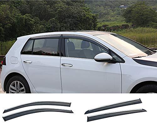 Xtrdye - 4 deflectores Viento Coche compatibles Volkswagen
