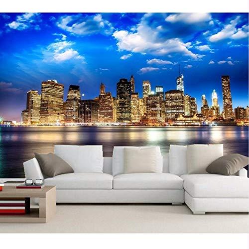 erte Moderne Wolkenkratzer In New York Wallpapersliving Zimmer Sofa Tv Wand Schlafzimmer Foto Wandbild Tapete-280X200Cm ()