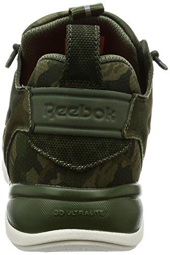 Basket Reebok Furylite CC camouflage verte militaire. camouflage