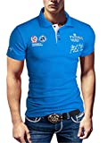 POLO NEW POLOSHIRT T-SHIRT SHIRT HEMD PARTY SLIM HERREN KURZARM