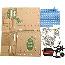 Rishil World DIY Lift Elevator Kit Science Educational Develop Toy Assembly Material Package For Children