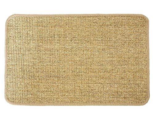 Primaflor - Ideen in Textil Katzen-Kratzmatte Katzenteppich - Nuss 40 x 60 cm, Sisal, Rutschhemmend - Sisal-Matte, Geeignet für Fußbodenheizung, Sisalteppich für Wand & Boden