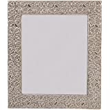 Starrdom Metal Wall Mirror (30 Cm X 2 Cm X 40 Cm, Off-white)