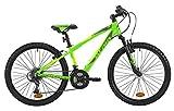 Atala Race Comp Vélo VTT 24', couleurs vert fluo / anthracite, pour garçon jusqu'à...