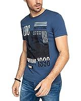 edc by ESPRIT Herren T-Shirt 036cc2k029a