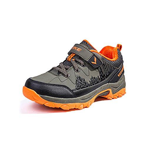 ASHION-Fashion-Flats-Mdchen-Jungen-Trainer-Breathable-Sport-Kinder-Schuhe-Casual-Outdoor-Walking-Spring-Sohlen-fr-Kinder-34-EU-Grn