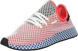 Deerupt es prueba que minimalismo puede ser audaz. Estos zapatos tienen malla ultra flexible superior cubierto por una capa de cinta de rejilla elástica. El aspecto geométrico se hace eco de un entresuela de EVA envueltos en web. Superior de las corr...