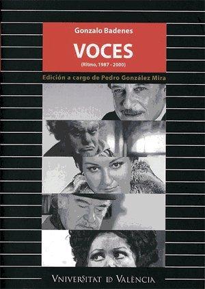 Descargar Libro Voces (Ritmo, 1987-2000) (Fora de Col·lecció) de Gonzalo Badenes