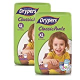 #4: Drypers Classicpantz Extra Large Size Diapers (Pack of 2, 44 Counts per Pack)
