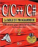 C/C++/C# - La Bible du programmeur (1 livre + 1 CD-Rom)