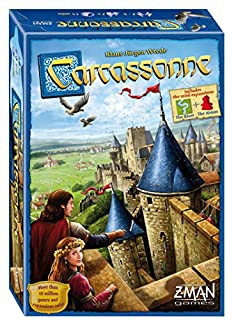 Z-Man Games Carcassonne New Edition Board Game (B00NX627HW) | Amazon Products