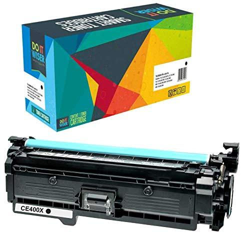 Do it Wiser Toner Kompatibel HP507A CE400X für HP 500 Color M551 M551n M551dn M551xh MFP M570 M570dn M570dw M575 M575c M575f M575dn (Schwarz) - Laserjet Color M551n-drucker Hp