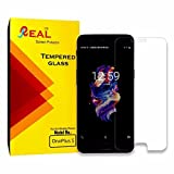 Real Oneplus 5 Transparent Tempered Glass Screen Protector for Oneplus 5 / 1+5 / One Plus 5 Mobile Phone