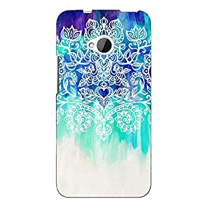 Jugaaduu Royal Queen Pattern Back Cover Case For HTC One M7