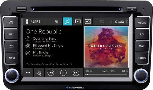 BLAUPUNKT BREMEN 975 - VW Autoradio in 2-DIN | Bluetooth | CD / DVD | MP3 | USB Blaupunkt Dvd