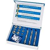 Accessori per strumenti di bellezza di diamante, microcristallina, strumenti di bellezza in acciaio inox , testa dermoabrasione di micro intaglio di diamonte