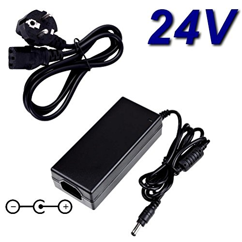 Top Ladegerät ® Netzadapter Ladegerät 24V für Drucker Etiketten Dymo LabelWriter 450Duo
