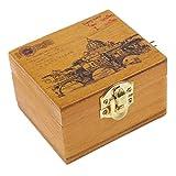 Generic Scenery Wooden Hand-cranked Musi...