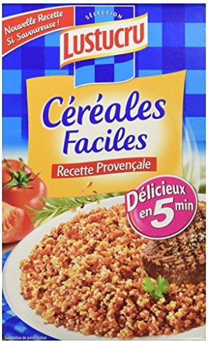 Lustucru Céréales Faciles Recette Provençale Sachet Cuisson 360 g