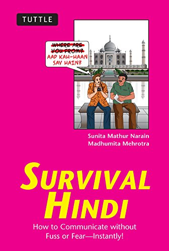 Survival Hindi: How to Communicate without Fuss or Fear - Instantly! (Hindi Phrasebook & Dictionary) (Survival Series)