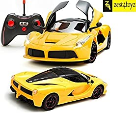 Remote control buy remote control games online at best prices in zest 4 toyz remote controlled ferrari like model sports car with openable doors yellow fandeluxe Image collections
