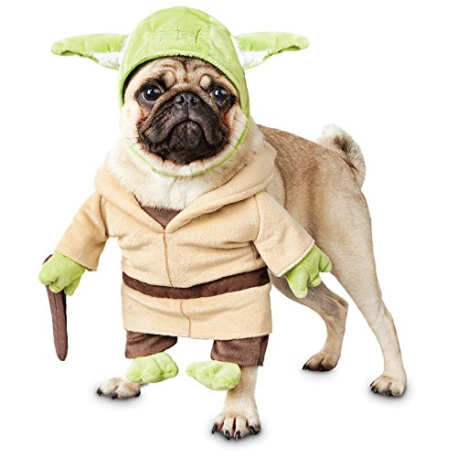 Wars Star Kostüm Pet - Star Wars Yoda Illusion Hund Kostüm, X-Large