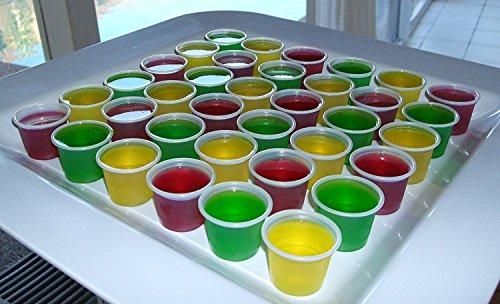 Vodka Jelly, mit Deckeln, 50 Stück (Jello Shot)