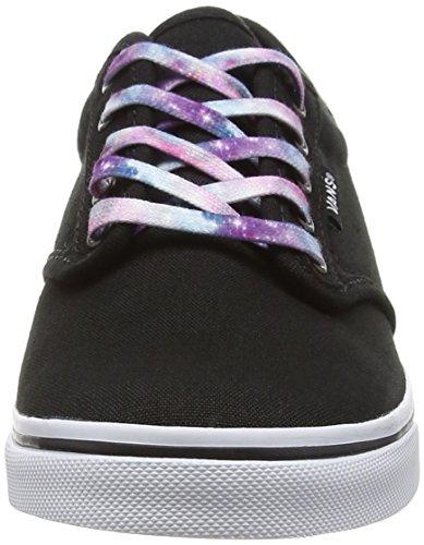 Vans Atwood Low, Sneakers Basses femme Noir (Cosmic Galaxy Lace/Black)