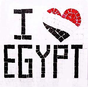 Trois petits points Kit de Mosaico Completo de Tres Puntos, Modelo Love Egypt-Geant+, 6192459601335, Universal