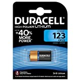 Duracell Ultra Lityum Pil 123 1 Parça, 3 Volt, Bakır/Siyah