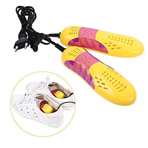 Schuhtrockner Antibakterieller Schuhwärmer Elektrische Schuhheizung mit UV-Licht zur Desinfektion auch für Handschuhe