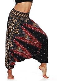 Amazon.es  Pantalones Hippies - Mujer  Ropa 1bb68af3f7bd
