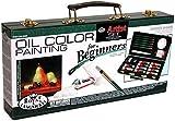 Royal & Langnickel RSET-OIL3000 - Maletín de pintura, color negro
