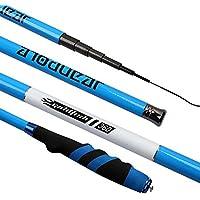 xluckx - Caña de Pescar ultrarresistente Ultraligera (3,6 – 6,3 m), Unisex Adulto, Azul, 6.3M