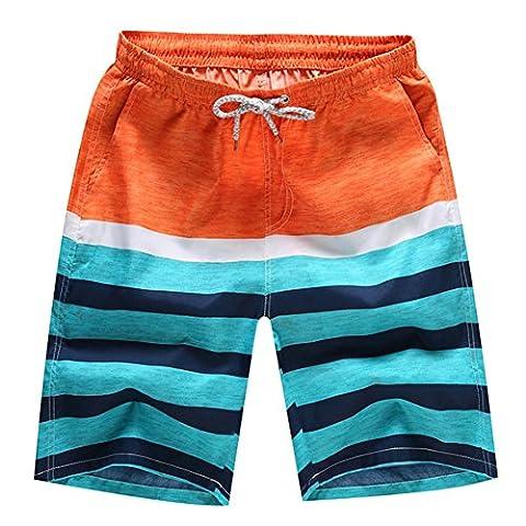 O-C Mens'beach shorts youth summer beach pants XXXX-Large