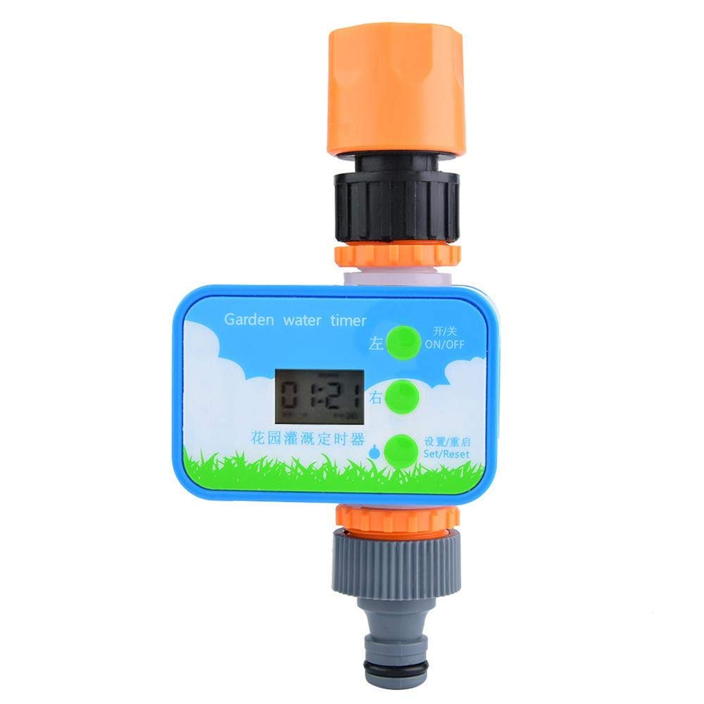 HAOHAODONG Elektronische automatische Gartenbewässerung Timer, intelligente Blumenbewässerung Controller…