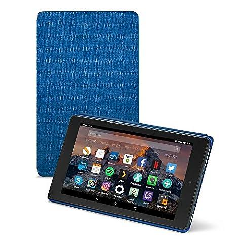 Amazon - Étui pour Fire HD 8 (tablette 8 pouces, 7ème génération - modèle 2017), Indigo