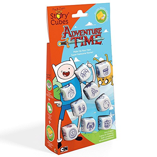 Die Kreativität Hub rsc109Rory 's Story Cubes Adventure Time Würfelspiel