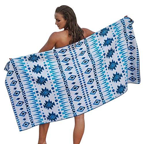 -Strandtücher für die Reise - schnelles, trockenes Handtuch für Schwimmer, sandfreies Handtuch Strandtücher für Kinder und Erwachsene, 70 * 130 cm ()